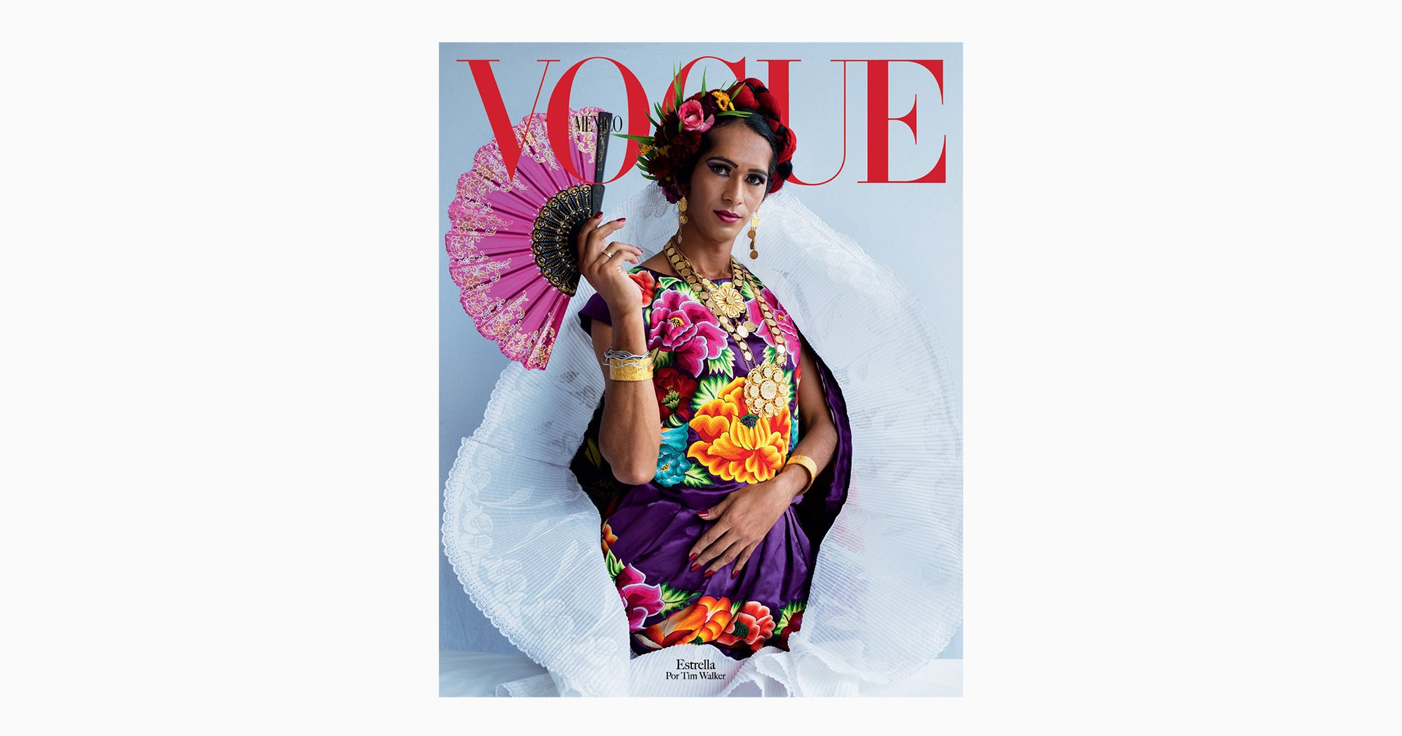 Vogue's New Cover Features Mexico's Third Gender