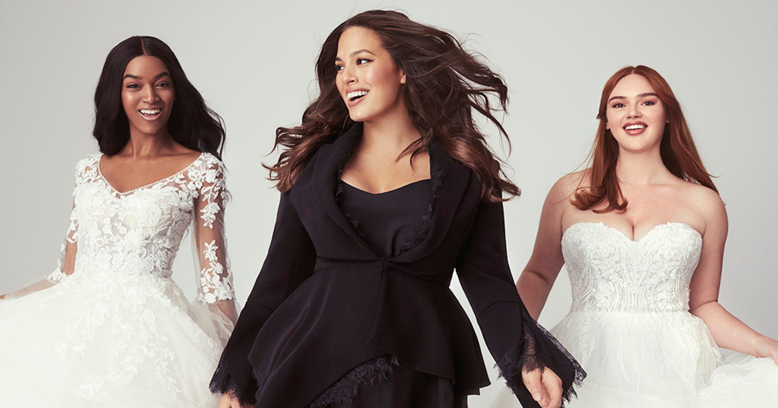 Ashley Graham x Pronovias Plus-Size Bridal Collection